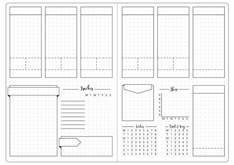 journal template ideas  pinterest bullet