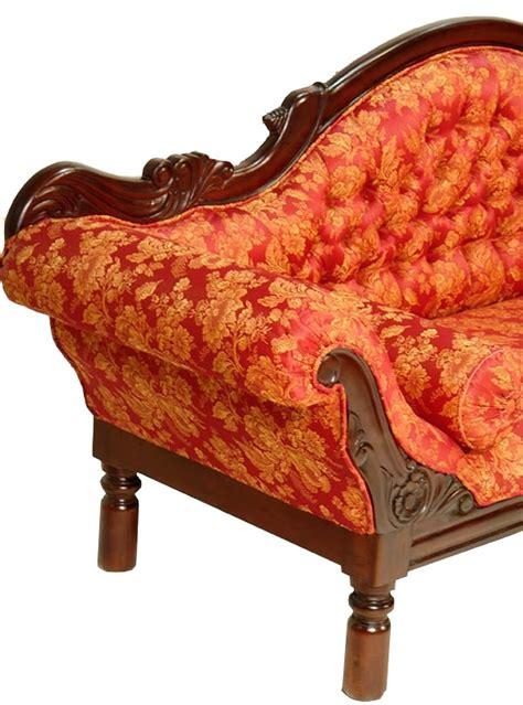 canape tissu style anglais canap style colonial acajou tissu grignon meuble de
