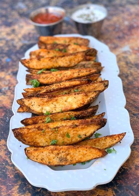 wedges fryer air potato seasoned easy degrees