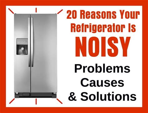 fix  refrigerator   noisy