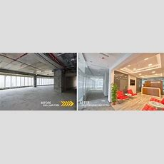 Interior Design For A Shall And Core Office  Interior