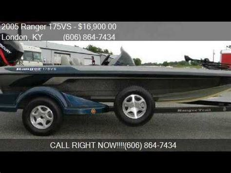 Ranger Boats For Sale In London Ky by 2005 Ranger 175vs For Sale In London Ky 40741 At Martin S