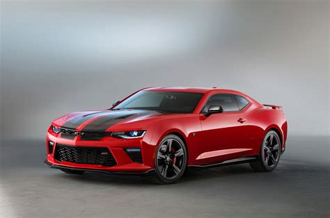 Chevrolet Camaro by 2016 Chevrolet Camaro Ss Gets Black Accent Packages