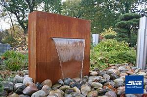 Gartenbrunnen Aus Cortenstahl : cortenstahl wasserfall stele gartenbrunnen springbrunnen ~ Sanjose-hotels-ca.com Haus und Dekorationen