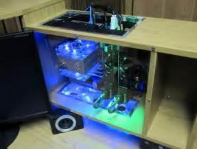 custom wood computer desk home design ideas