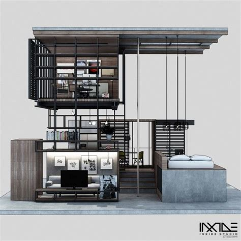 Compact House Made From Affordable Materials by Compact Modern House Made From Affordable Materials Diy