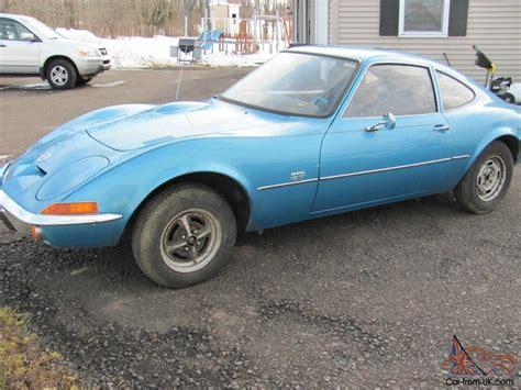 1969 Opel Gt No Rust 27500 Original Miles Rare 1.1 Engine