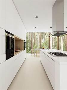 Minimalist Interior Design : white minimalist modern kitchen sydney by dan kitchens australia ~ Markanthonyermac.com Haus und Dekorationen