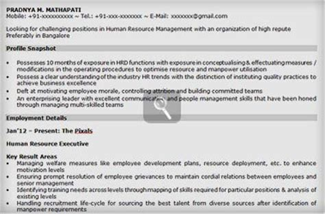sle resume for mba freshers in hr resume sles for freshers mba hr essay words discuss consultspark