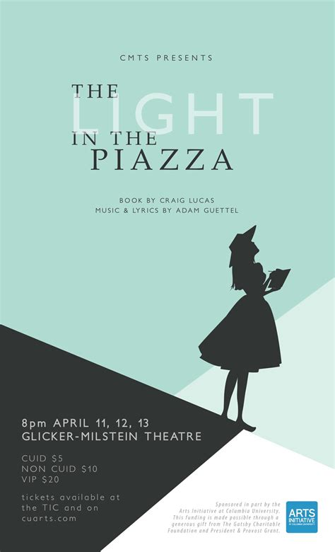 the light in the piazza light in the piazza columbia musical theatre society