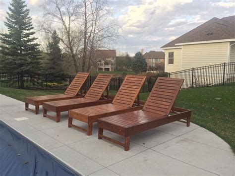 Diy Outdoor Chaise Lounge Chairs  Our Projects