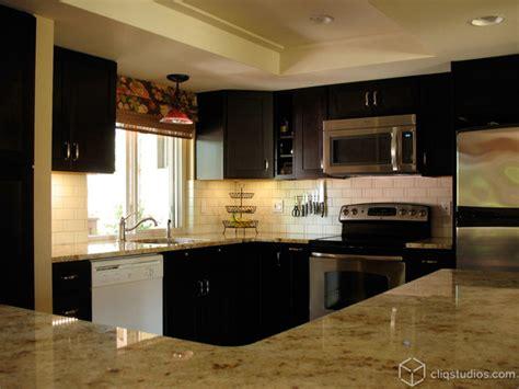 black kitchen cabinets contemporary kitchen seattle