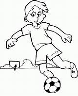Football Coloring Soccer Coloringpages1001 Ball sketch template