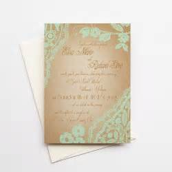 mint wedding invitations bellevue mint gold version wedding invitations deposit