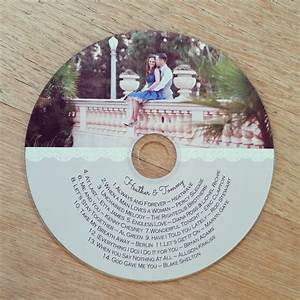 custom printed cd labels wedding favors client photography With custom printed cd labels