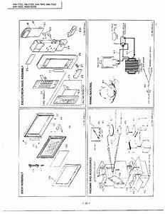Complete Microwave Page 2 Diagram  U0026 Parts List For Model