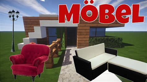 Minecraft Haus Einrichten #2  Möbel, Küche, Bett