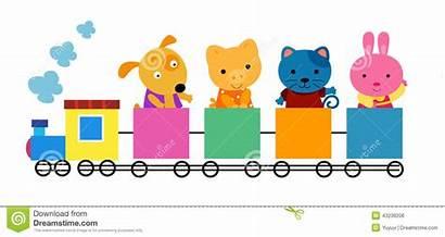 Train Clipart Animal Illustration Vector Animals Royalty