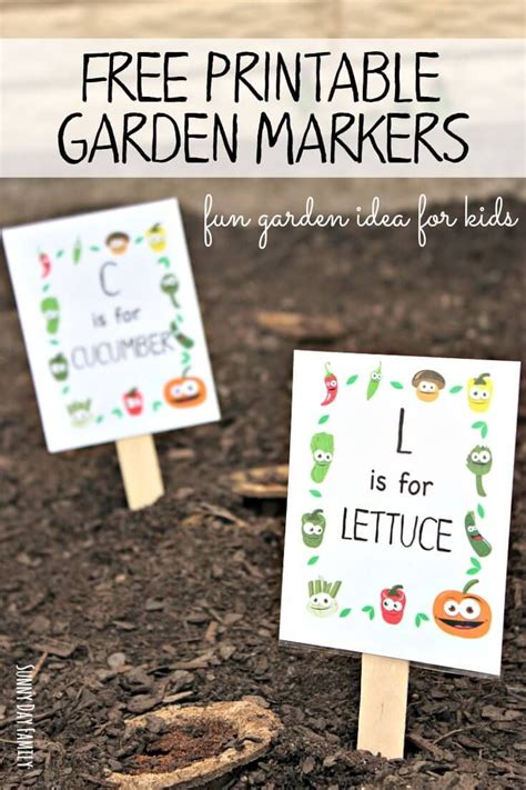 free printable garden markers your will how 898 | 8a748d1284a347ae064d525b0270379f