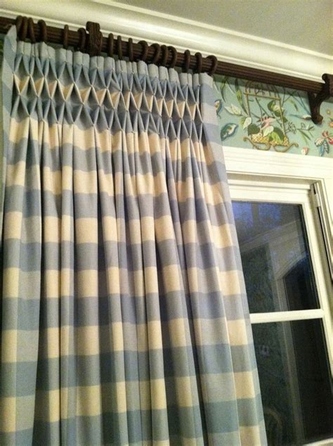 Smocked Curtains Drapes - 17 best images about drapery pleats on box