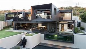 maison contemporaine avec structure en acier With plan de maison moderne 16 images gratuites architecture maison sol architecte