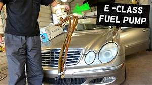 Mercedes W211 Fuel Pump Removal And Replacement E200 E230