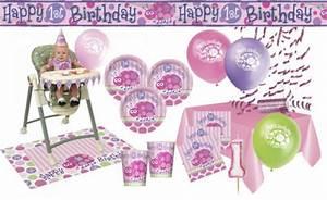Deko Für 1 Geburtstag : rosa deko g nstig sicher kaufen bei yatego ~ Buech-reservation.com Haus und Dekorationen