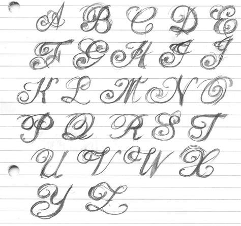 Fancy Cursive Writing Alphabet Alphabet Cursive Fancy Cursive Letters Tattoos  Best Business