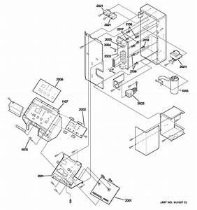 Control Parts Diagram  U0026 Parts List For Model Az29e07dabm1 Ge