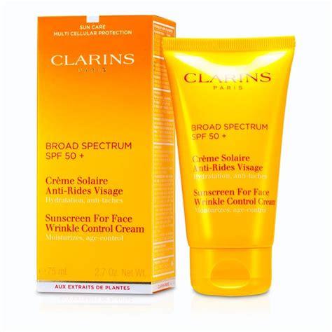 Clarins mens skincare
