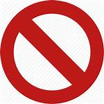 Icon Forbidden Entry Stop Transparent Freeiconspng Vector