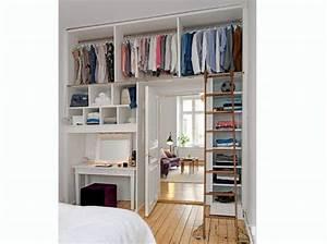 comment faire un dressing dans une chambre insertion With comment faire un dressing dans une chambre