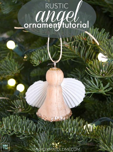 Diy Wooden Angel Ornaments Hello Nutritarian