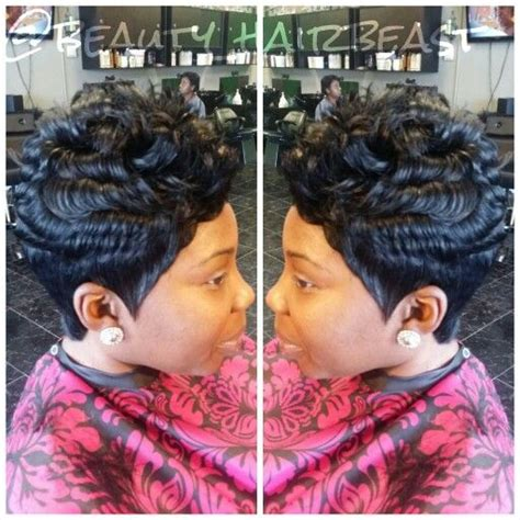 short 27 piece quick weave natural looking short cuts