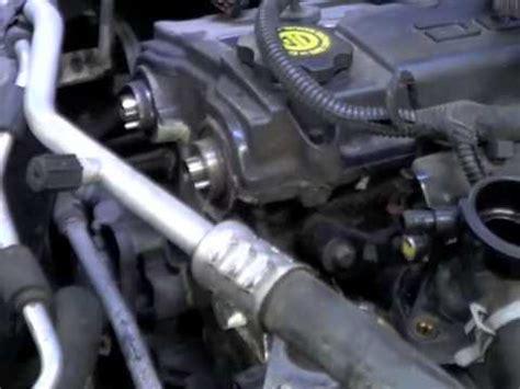 Chrysler 2 7 Water by 2004 Chrysler Sebring Timing Belt Water Before 90k 2