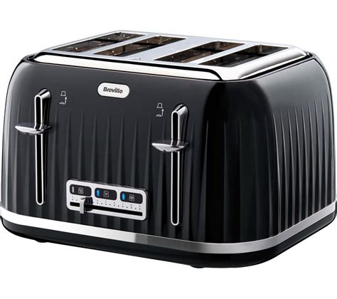 And Black Toaster by Buy Breville Impressions Vtt476 4 Slice Toaster Black