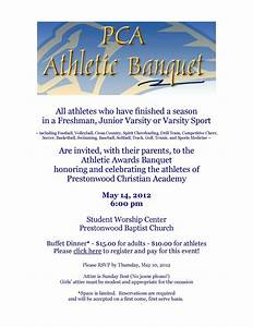 sports banquet invitation wording With banquet invitation templates free