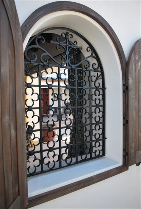 window grill traditional patio by grizzly iron inc