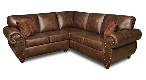 microfiber or leather sofa brown smokey leather like microfiber classic sectional sofa