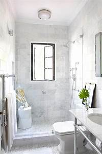 shower with french windows transitional bathroom With windows for bathroom showers