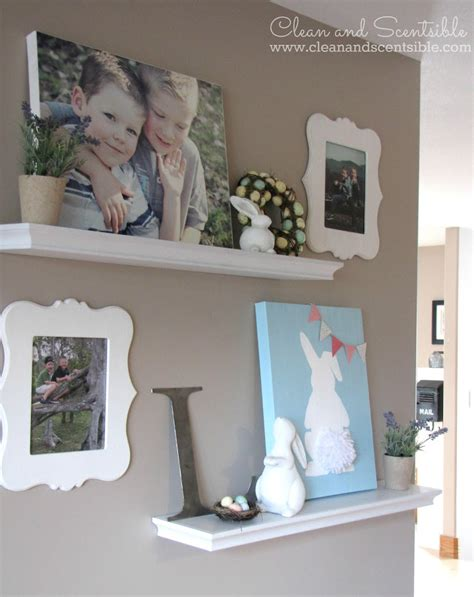 This makes them a great addition to the décor of a large wall. Gallery Wall {How to Cover a Thermostat} - Clean and ...