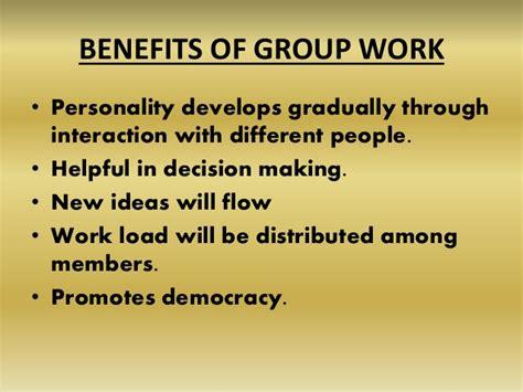 work presentation benefits