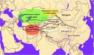 Ancient China Silk Road Map