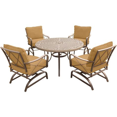 hanover summer nights 5 outdoor dining set with