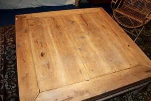 Table Basse Bois Brut : grande table basse chinoise bois brut naturel puces d 39 oc ~ Melissatoandfro.com Idées de Décoration