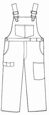 Bib Overall Clipart Overalls Coloring Farmer Boy Template Printable Clip Pages Boys Line Clipground Cliparts Templates Google Card Sketch Br sketch template