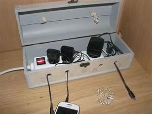 Rangement Cable Bureau : les 25 meilleures id es de la cat gorie bo te de c ble sur ~ Premium-room.com Idées de Décoration