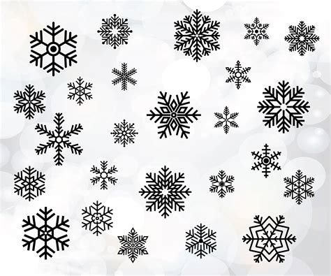 » snowmen, snowflakes and snowglobes. Hand drawn snowflake svg file Snowflakes cut file | Etsy