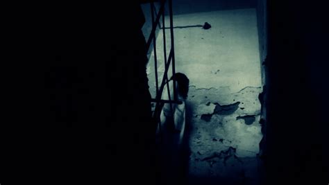 Horror Scene Of A Scary Woman Stock Footage Video 4157173