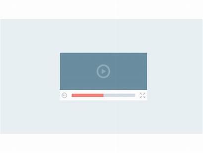 Player Flat Animated Dribbble Advids Shots